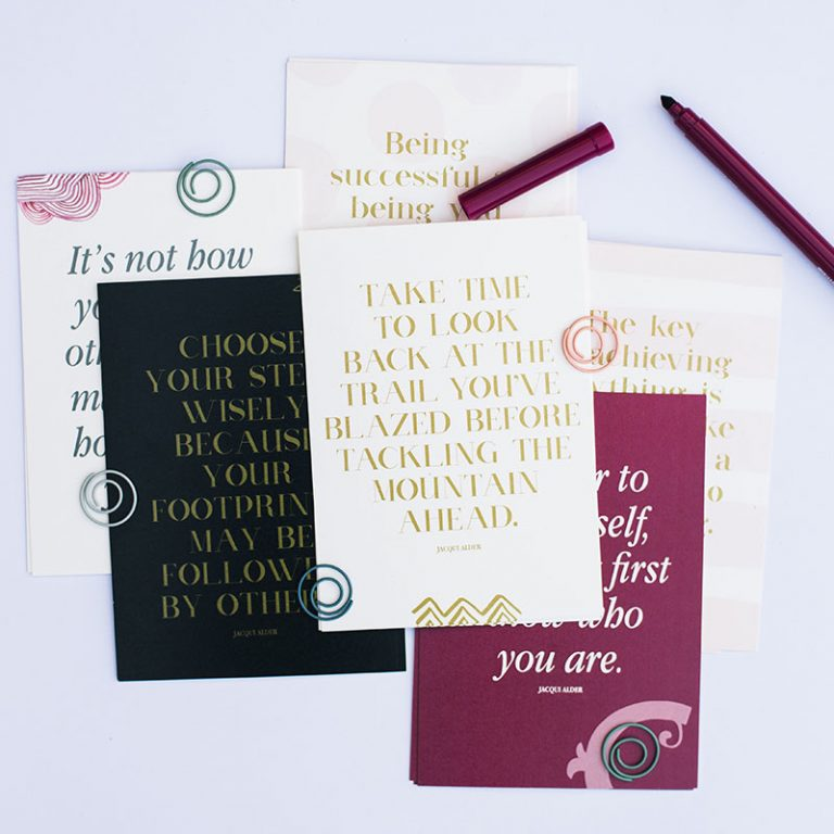 Quote Card Set - Success for Women