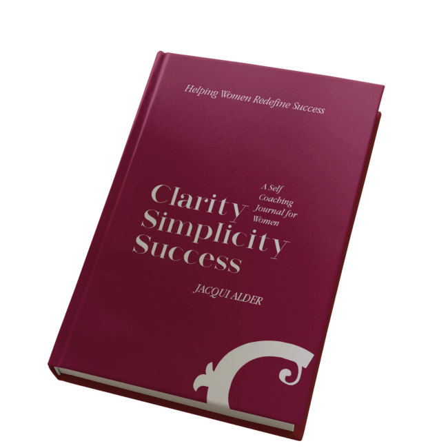 Guided Journal for Women Clarity Simplicity Success by Jacqui Alder
