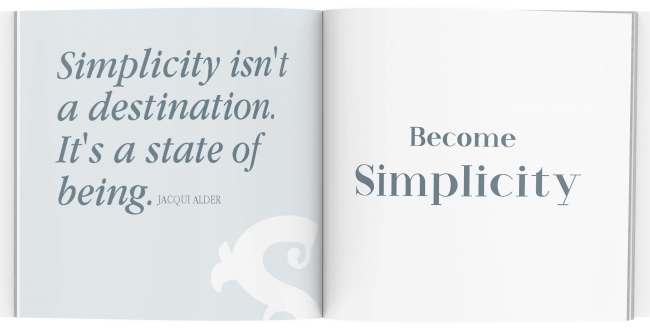Little Coaching Book of Simplicity Sample Pages