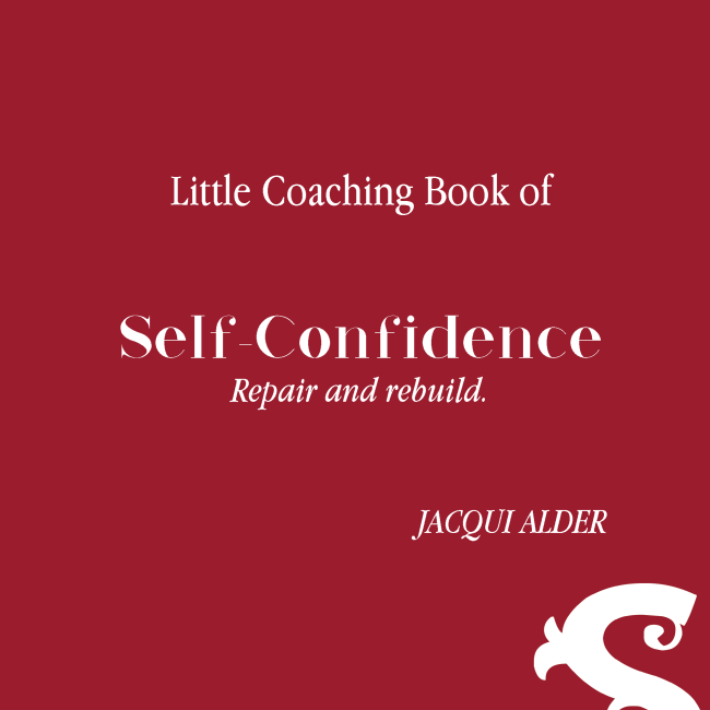 Little Coaching Book of Self-Confidence, Repair and rebuild. Cover