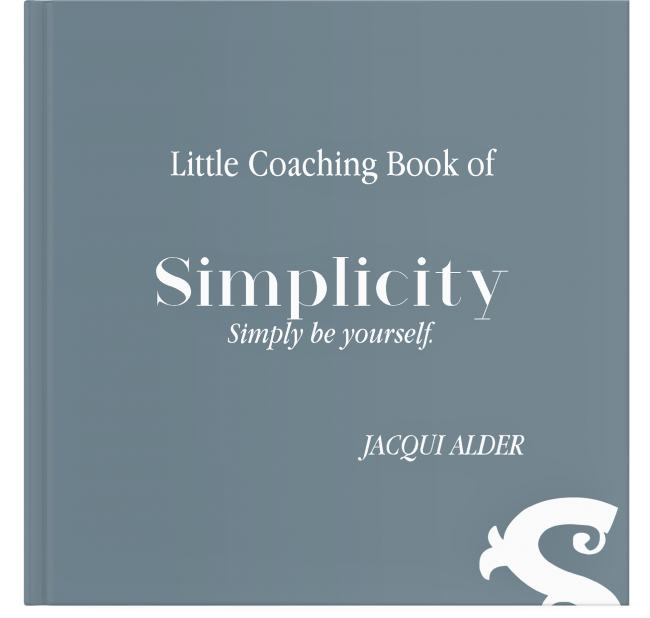 Little Coaching Book of Simplicity Cover Thin